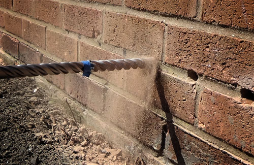 damp proof drilling